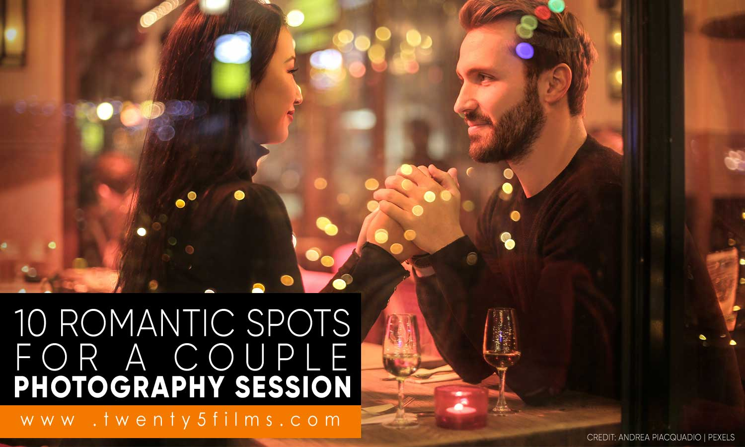 10 Romantic Spots for a Couple Photography Session