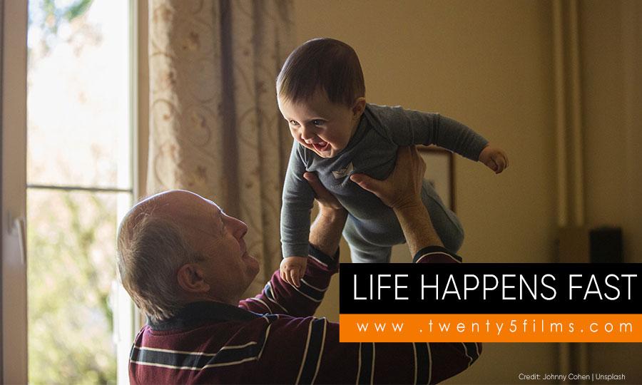 Life happens fast