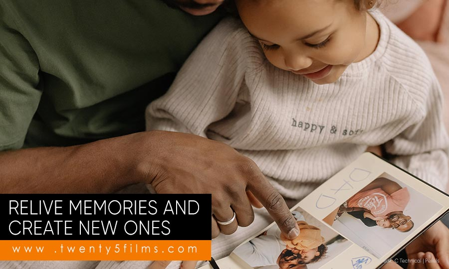 Relive memories and create new ones