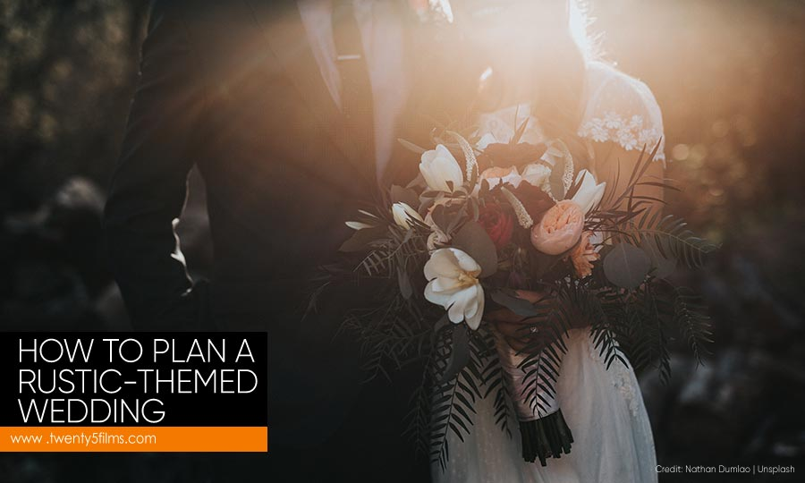 How to Plan a Rustic-Themed Wedding